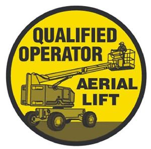 qualified airial lift operator